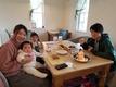 2月のデコレーションパンケーキ