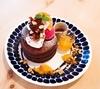 〚バレンタイン限定〛オレンジショコラパンケーキ