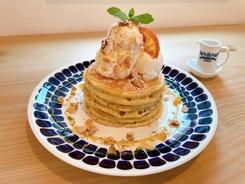 【八戸店限定】レモンソースと紅茶のパンケーキ