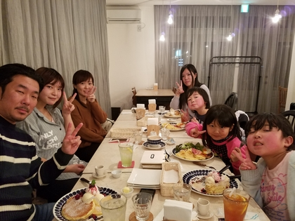 Hanamizuki Cafeでお祝いを