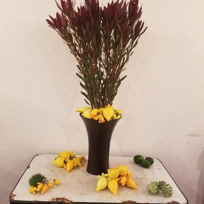 今週のお花と秋の訪れ